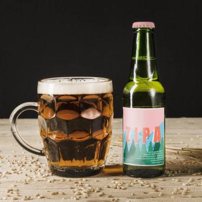 Création étiquette bière Zipa