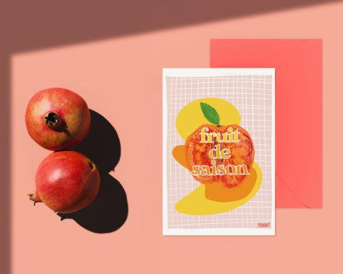 Création carte postale